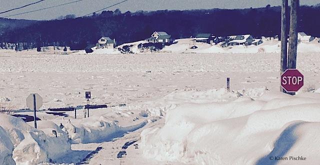 Winter 2015 Frozen Annisquam River GMG