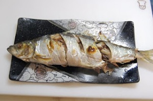 Herring Grilled Nishin