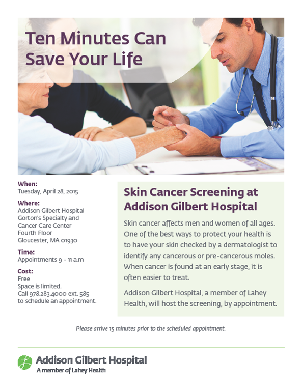 Skin Cancer Screening Cape Ann Wellness