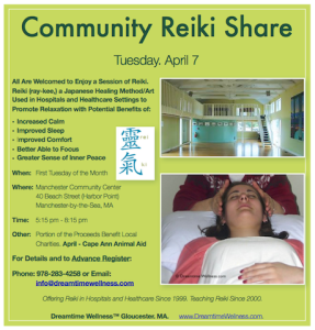 Dreamtime Wellness™ Monthly Reiki Share