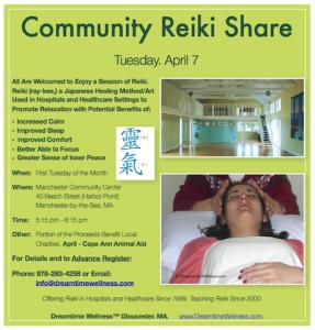 Dreamtime Wellness™ Monthly Reiki Share