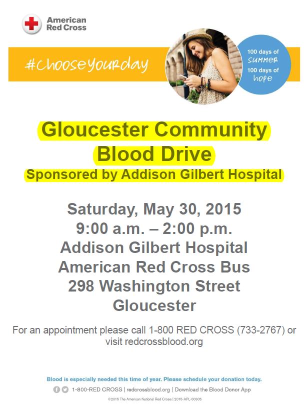 Community Blood Drive AGH