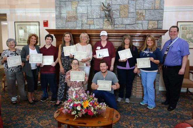 Seacoast Nursing and Rehabilitation Employee Recognition Awards