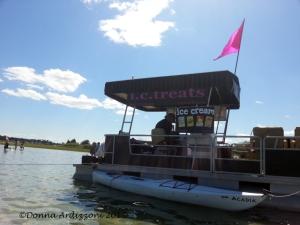 I.C. Treats Ice Cream Boat