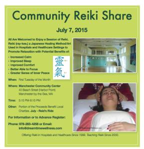 Reiki Share July 2015