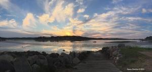 Summer Sunset on the Annisquam