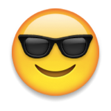 Emoji with sunglasses 41-smiling-face-with-sunglasses