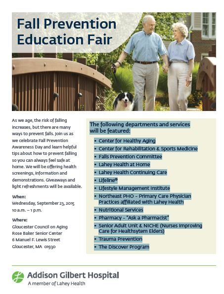 Falls Prevention Fair