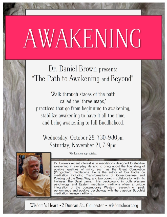 Wisdom's Heart is honored to host this world leader in awakening-focused meditation practices.