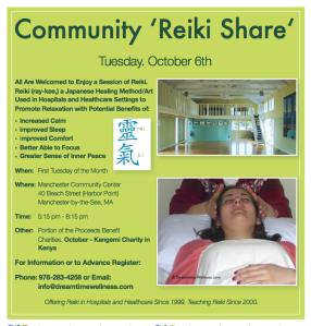 Community Reiki Share