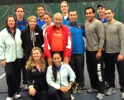 MAC kicks off weekend of tennis events with a benefit for ALS hosted by Nick Bollettieri