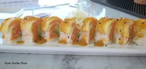 The 'Captain Joe' Sushi Roll at the Studio Gloucester MA copy