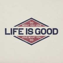 LIfe is Good Mens-Do-What-You-Love-Crusher-Tee_43704_2_lg