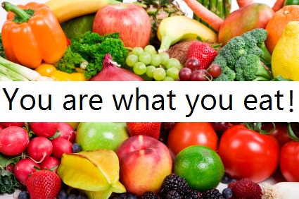 Healthy Food you-are-what-you-eat