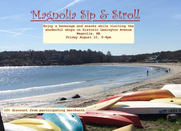 "Magnolia ""Sip & Stroll""…"