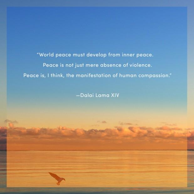 I am Peace~