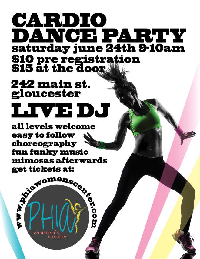 Dance Party Flyer