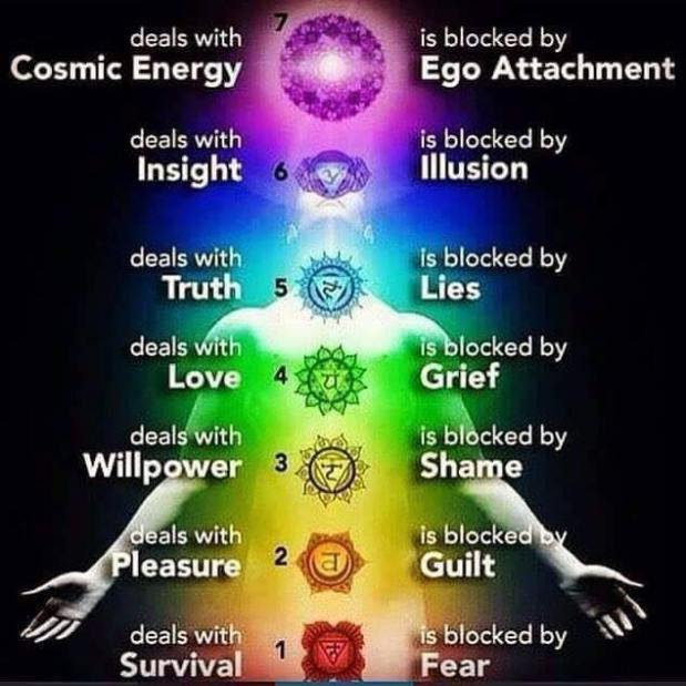 Chakra's and your health ~