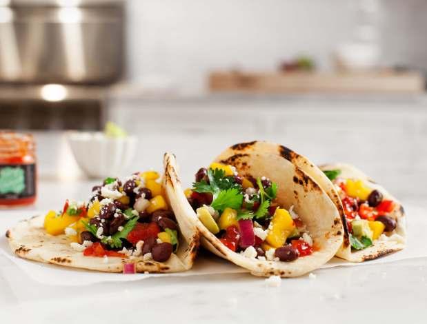 Black Bean Tacos~