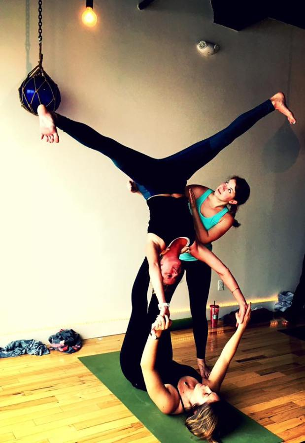 Learn ACROYOGA in Gloucester this Weekend!