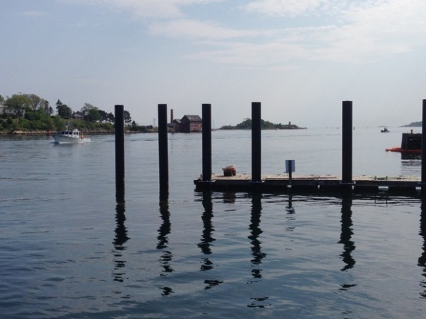 Yoga on the Pier at Maritime Gloucester