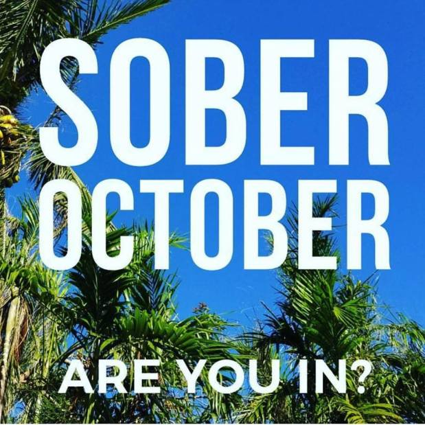 You can still JOIN US for Sober October!!!