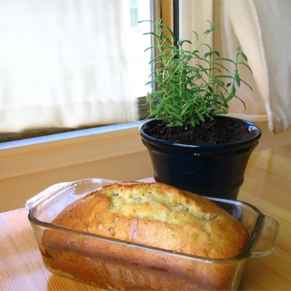 Lavender Tea Bread ~