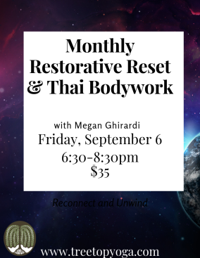 monthly restorative reset